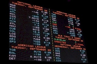 State Chicago Vegas Odds Wallboard