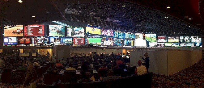Westgate Superbook Sports Ticker with Live iCandy Sports and News Headlines